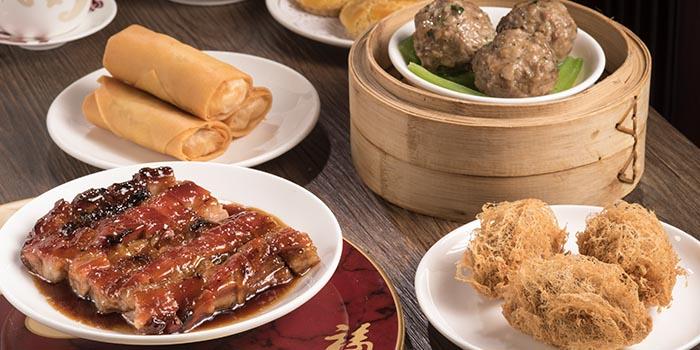 Dim Sum, Fook Lam Moon (Hong Kong), Wan Chai, Hong Kong