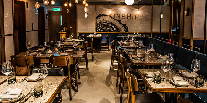 Dining Area, Kinship, Central, Hong Kong