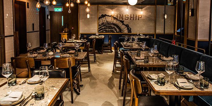 Dining Area, Kinship, Central, Hong Kong