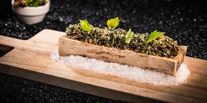 Bone Marrow, Herb Salad, Onion Confit, Smoked Salt, Bostonian Seafood & Grill, Tsim Sha Tsui, Hong Kong