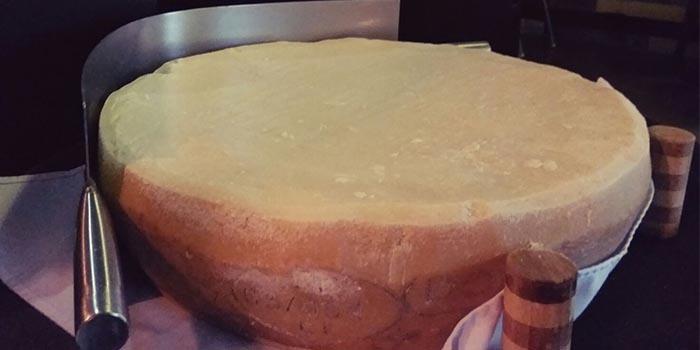 Padano Cheese, Babbo Trattoria, Causeway Bay, Hong Kong