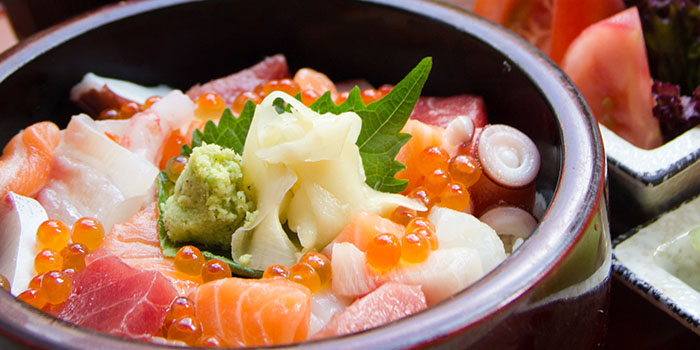 Diced Sashimi on Steamed Rice, Umami, Cyberport, Hong Kong