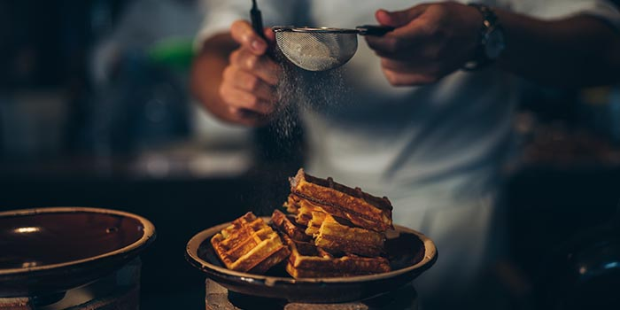 Waffle, The Farmhouse, North Point, Hong Kong
