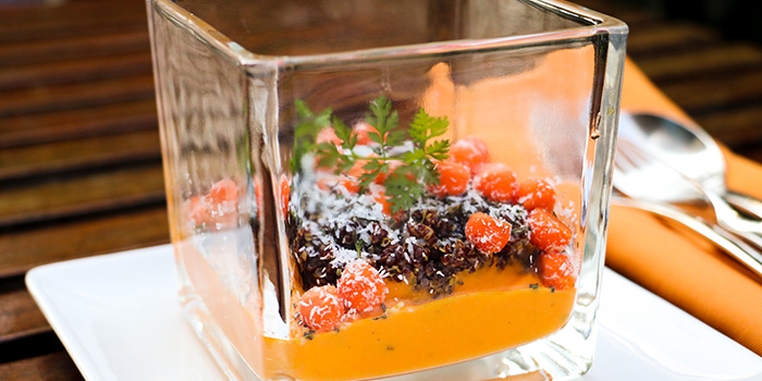Roasted Quinoa, Carrot, Rosemary And Coconut Milk, Prompt, Cyberport, Hong Kong