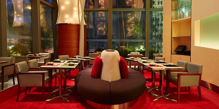 Dining Area, Umami, Cyberport, Hong Kong