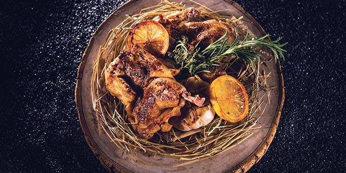 Spring Chicken Cooked In Hay, Bostonian Seafood & Grill, Tsim Sha Tsui, Hong Kong