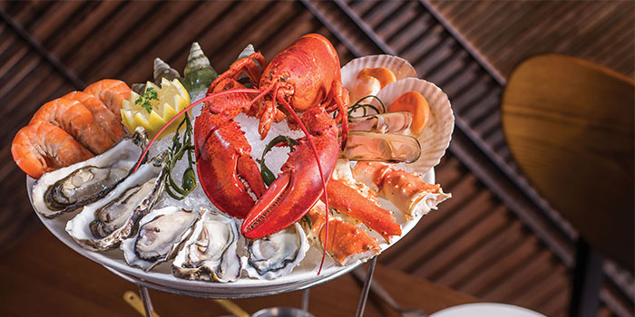 Seafood Tower, Bostonian Seafood & Grill, Tsim Sha Tsui, Hong Kong