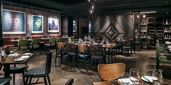 Dining Area, Bostonian Seafood & Grill, Tsim Sha Tsui, Hong Kong