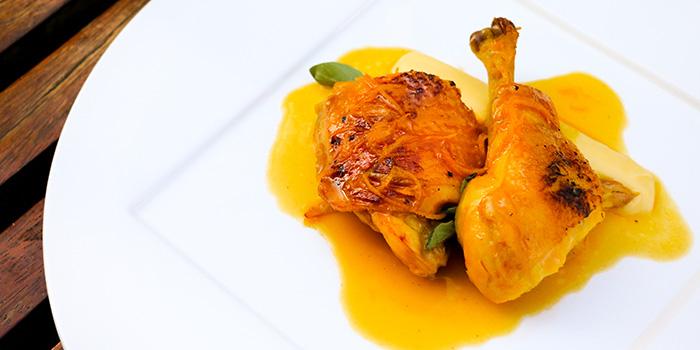 Chicken Leg In Orange Sauce, Potato Puree, Prompt, Cyberport, Hong Kong