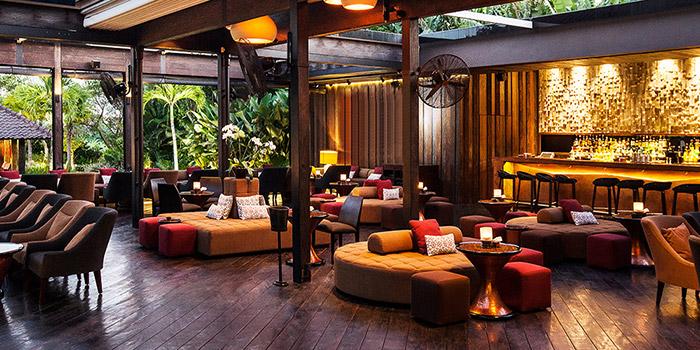 Interior from Metis Restaurant, Seminyak, Bali