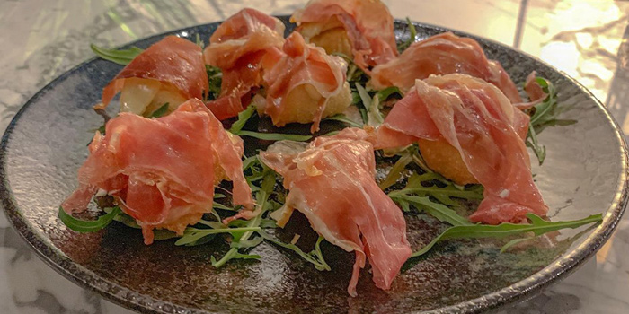 Appetizer from Primi Italian Kitchen and Wine Room at 483/1 Rama III Road Bang Klo, Bangkorlearm Bangkok