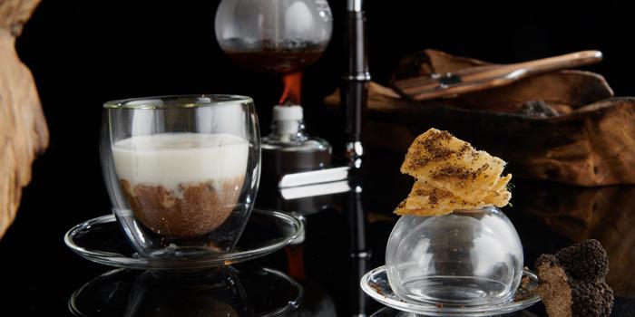 Cappuccino Tom Kha from Sra Bua by Kiin Kiin at Siam Kempinski Hotel in Siam, Bangkok