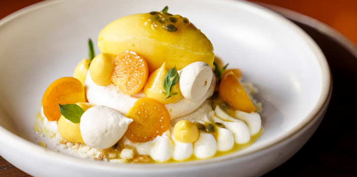 Passion Fruit Pavlova from OCKEN at Building A, Bhiraj Tower 31S Sathorn Rd Yan Nawa, Sathon Bangkok