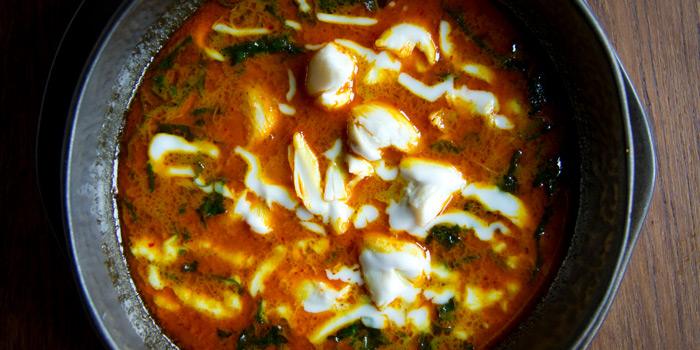 Yellow Curry with Crab Meat  from Chon Thai Restaurant at 3/2 Thanon Khao Vachirapayabal, Dusit Bangkok