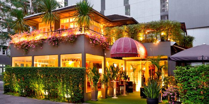 Exterior of Opus Wine Bar at 64 Pan Road, Silom, Bangrak Bangkok