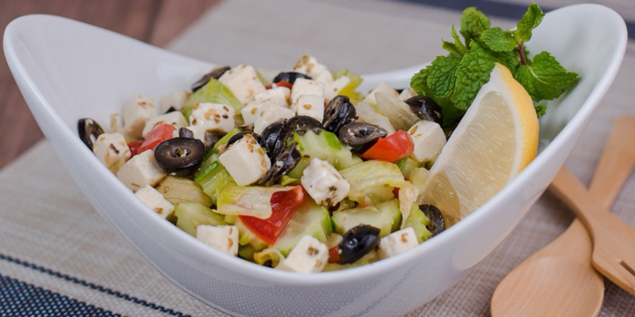 Greek Salad from Lebanese House Restaurant at 14 Soi Sukhumvit 11 Khlong Toei Nuea, Watthana Bangkok