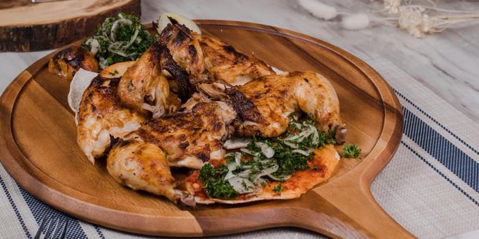 Grilled Whole Chicken from Lebanese House Restaurant at 14 Soi Sukhumvit 11 Khlong Toei Nuea, Watthana Bangkok
