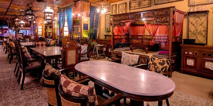 Interior from Asian Spice Restaurant, Legian, Bali