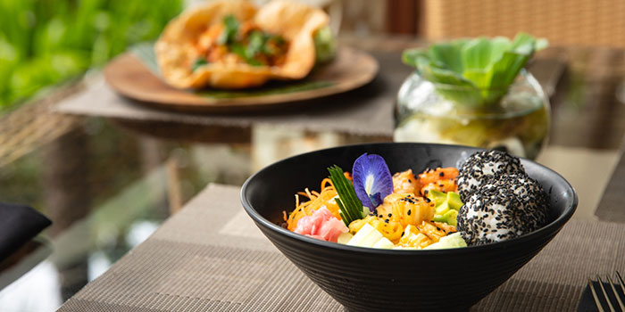 Food from Kul Kul, Nusa Dua, Bali