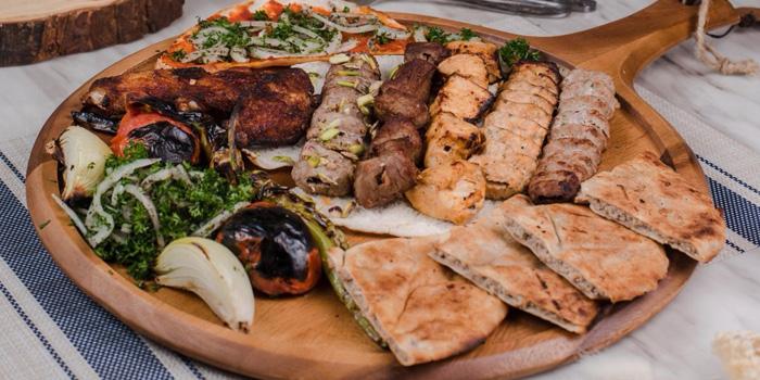 Mixed Grilled from Lebanese House Restaurant at 14 Soi Sukhumvit 11 Khlong Toei Nuea, Watthana Bangkok