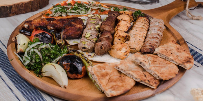 Mixed Grilled from Lebanese House Restaurant at 14 Soi Sukhumvit 11 Khlong Toei Nuea, Watthana Bangkok
