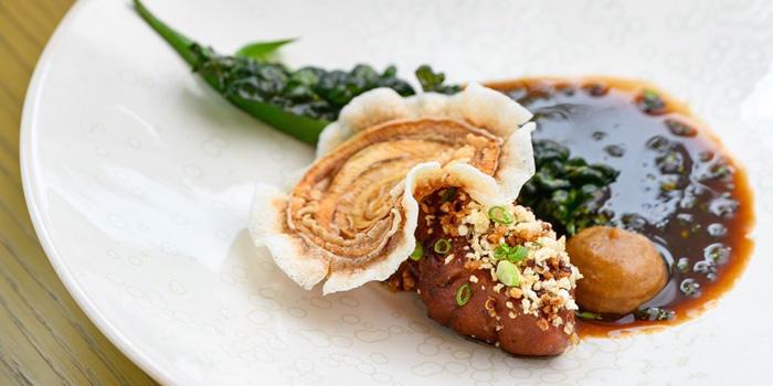 Pork Cheek  from Shellfish from Front Room at Waldorf Astoria Bangkok Lower Lobby, 151 Ratchadamri Road Bangkok