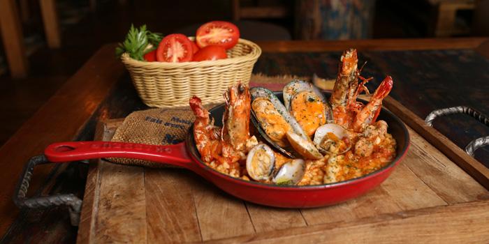 Risotto Frutti Di Mare at Al Dente Italian Kitchen and Bar, Bali