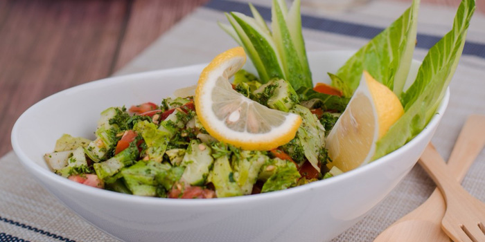 Green Salad from Lebanese House Restaurant at 14 Soi Sukhumvit 11 Khlong Toei Nuea, Watthana Bangkok