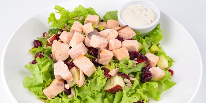 Salmon Salad from Easy Health Bangkok at 44/4 Sukhumvit soi 21 Khlongtoey Neua, Watthana District Bangkok