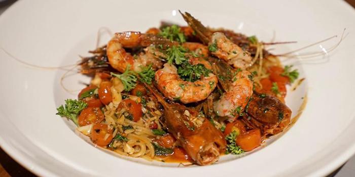 Seafood Linguine from Primi Italian Kitchen and Wine Room at 483/1 Rama III Road Bang Klo, Bangkorlearm Bangkok
