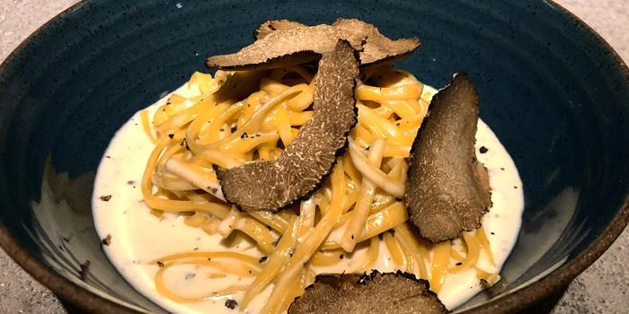Spaghetti with Black Truffle from Wolf at Akhan Songkrho2 rd. Soi Naradhiwas Rajanagarindra17 Lane7 South Sathon Bangkok