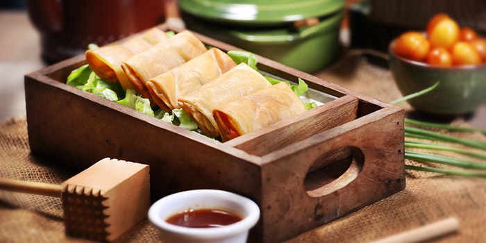 Food from Honey and Bread Cafe, Nusa Dua, Bali