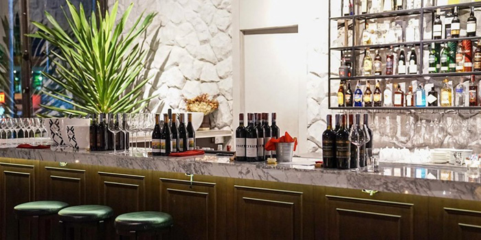 The Wine Room of Primi Italian Kitchen and Wine Room at 483/1 Rama III Road Bang Klo, Bangkorlearm Bangkok