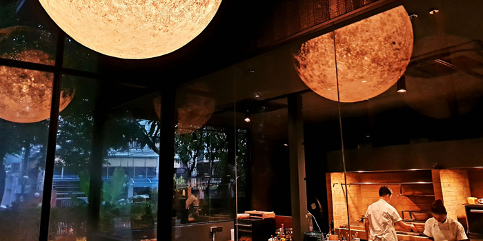 Open Kitchen of Wolf at Akhan Songkrho2 rd. Soi Naradhiwas Rajanagarindra17 Lane7 South Sathon Bangkok