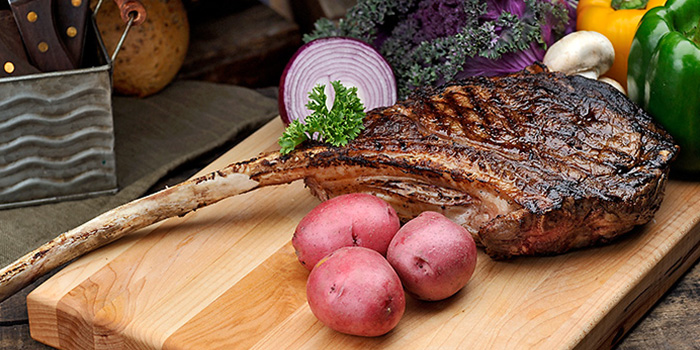 Tomahawk Steak from Roots Mediterranean in Bukit Timah, Singapore