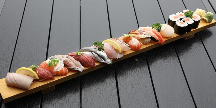 12pc Sushi Plate from TEN Sushi in Robertson Quay, Singapore