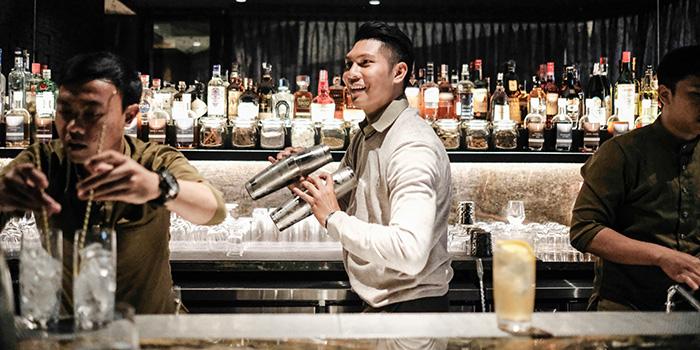 Bartender from Si Jin Steakhouse, Seminyak, Bali