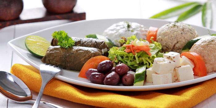 Dish 2 at Mykonos Greek Restaurant, Seminyak