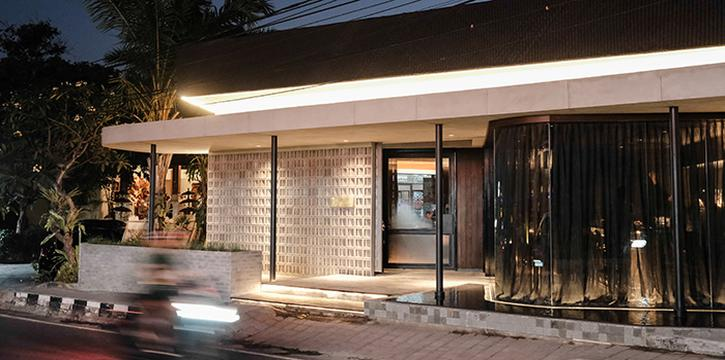 Exterior from Si Jin Steakhouse, Seminyak, Bali