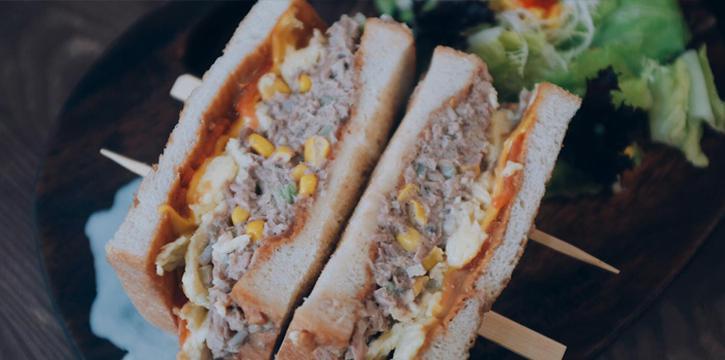 Sandwiches, Jie Genge, Mong Kok, Hong Kong