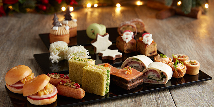 Festive Afternoon Tea (4 Nov to 30 Dec) from The Landing Point in Fullerton Bay Hotel, Singapore
