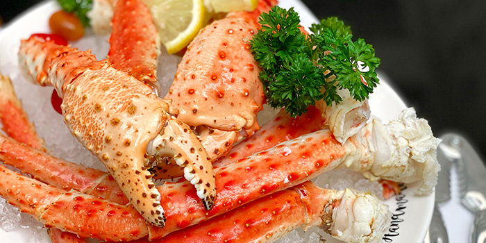 Alaskan King Crab Claw from Spices Cafe in Concorde Hotel Singapore in Orchard, Singapore