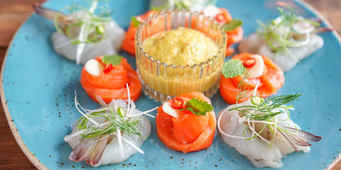 Appetizer Dishes from Ginger Farm Eatery & Bar at 39 Boulervard Executive Residence Sukhumvit 39 Klong Tan Nuea, Watthana Bangkok
