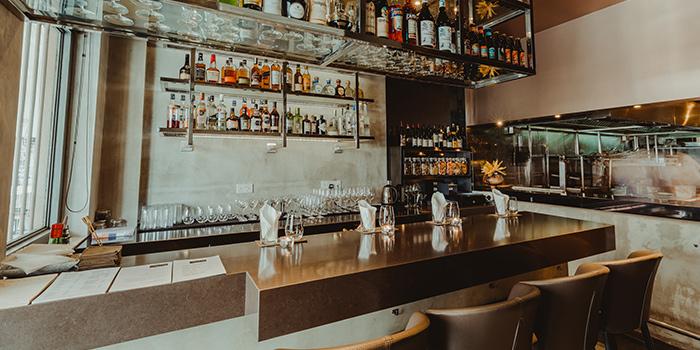 Bar Area of Thevar in Keong Saik, Singapore