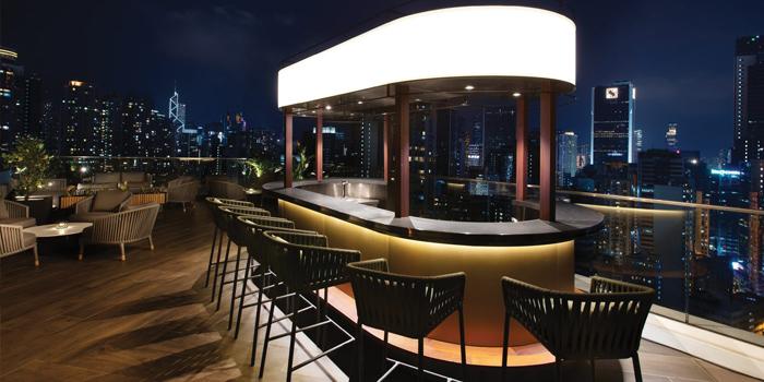Bar Area, The Crown, Wan Chai, Hong Kong