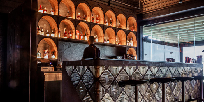 Bar from Age in Layan Beach, Phuket, Thailand