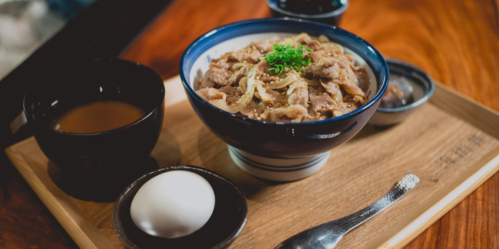 Beef Rice Bowl, Umimachidon, Kowloon Bay, Hong Kong