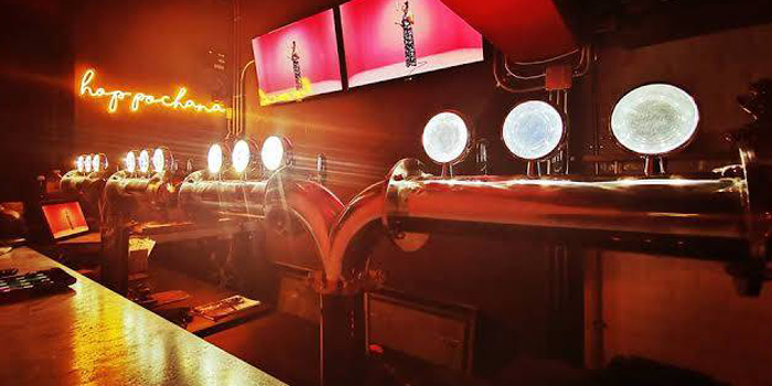 Beer Tap from Hop Pochana at 2/7 Sukhumvit 34 Klongton, Klongtoey Bangkok