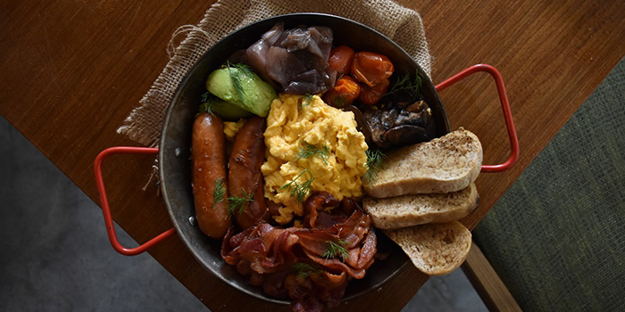 Big Pan Breakfast from Wildseed Cafe in Seletar, Singapore