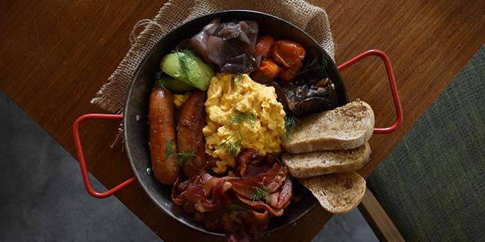 Big Pan Breakfast from Wildseed Cafe in Seletar, Singapore